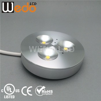Wd 300a ul 12v led cabinet light round puck light buy round puck wd 300a ul 12v led cabinet light round puck light aloadofball Gallery