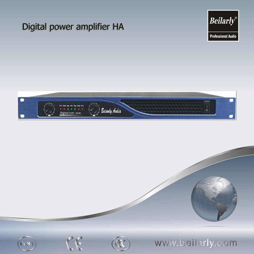 powerful professional digital amplifiers