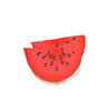 the beach people watermelon shaped large round beach towel