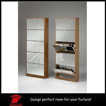 Cermin Furniture Sudut Tertutup Model Rak Sepatu Kayu Buy Rak