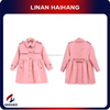Hot selling manufacturers woven windproof long sleeve kids clothes