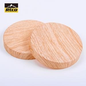 Pvc plastic tube end caps,round vinyl cap