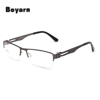 a7398334a81 Fashionable Titanium Alloy Optical Eyeglasses Frames Semi-Rimless Alloy  Eyewear For Men and Women