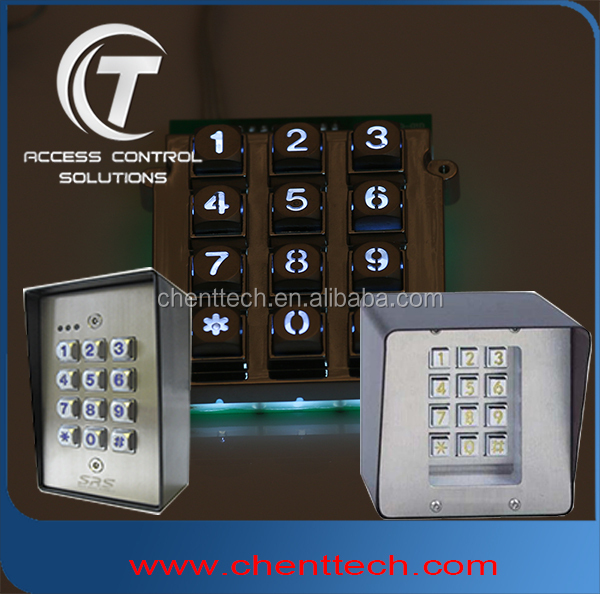 Telephone Entry Systems keypad with led light