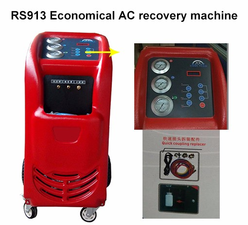 used refrigerant recovery machine