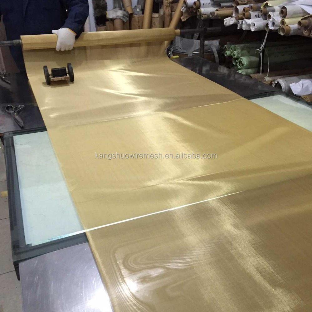 Chinese Supplier Brass wire mesh,brass screen cloth, brass screen mesh With High Quality