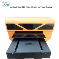 New Design Vietnam A2 DTG Flatbed T-shirt Printer for Parrel Printing