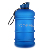 customized logo 2.2l bpa free petg half gallon water bottle with handle