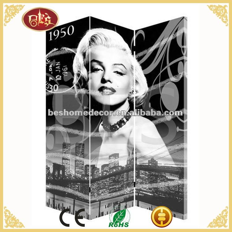Marilyn Monroe Canvas Room Divider, Marilyn Monroe Canvas Room Divider  Suppliers and Manufacturers at Alibaba.com - Marilyn Monroe Canvas Room Divider, Marilyn Monroe Canvas Room