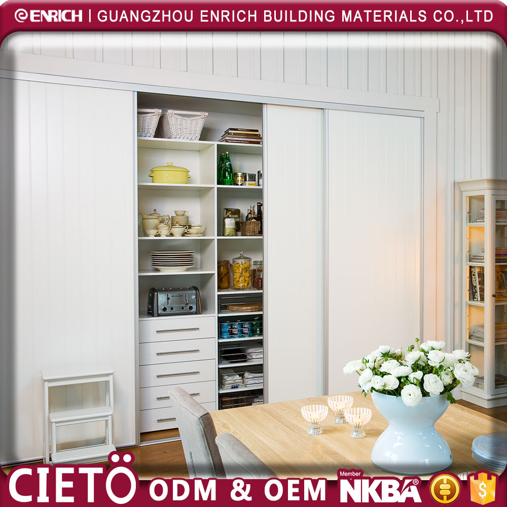 2017 Space saving bedroom cupboard sliding door wardrobe/ floor mounted organisation with fancy and affordable accessories