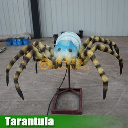Huge size insects animatronic spider models