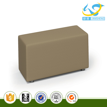 China Supplier Parallelogram Sectional Corner Sofa Small Sofa Without Back