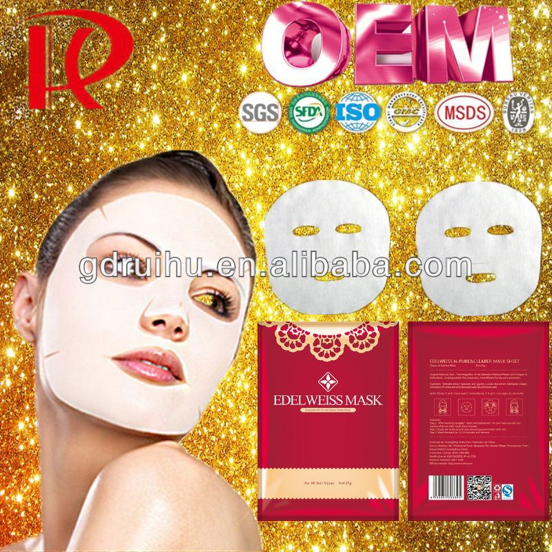 korean red ginseng mask