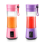 Portable juicer rechargeable travel blender