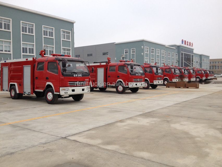 Export To Myanmar 66 Units Dongfeng Fire Tuck