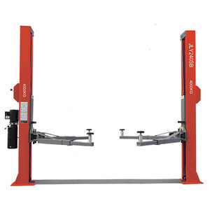 Plate Floor Two Post Auto Hoist 4t Hydraulic Car Lift For Sale