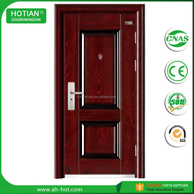 Indian Latest Main Gate Door Design Ghana Steel Door Security Doors for Home Entrace Use