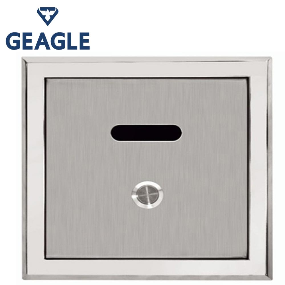 1/2 G Urine Infrared Sensor Urinal Automatic Stool Flush Valve Copper Valve Hotel Bathroom