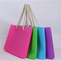 New Product Fashion Durable Promotional Silicone Tote Bag