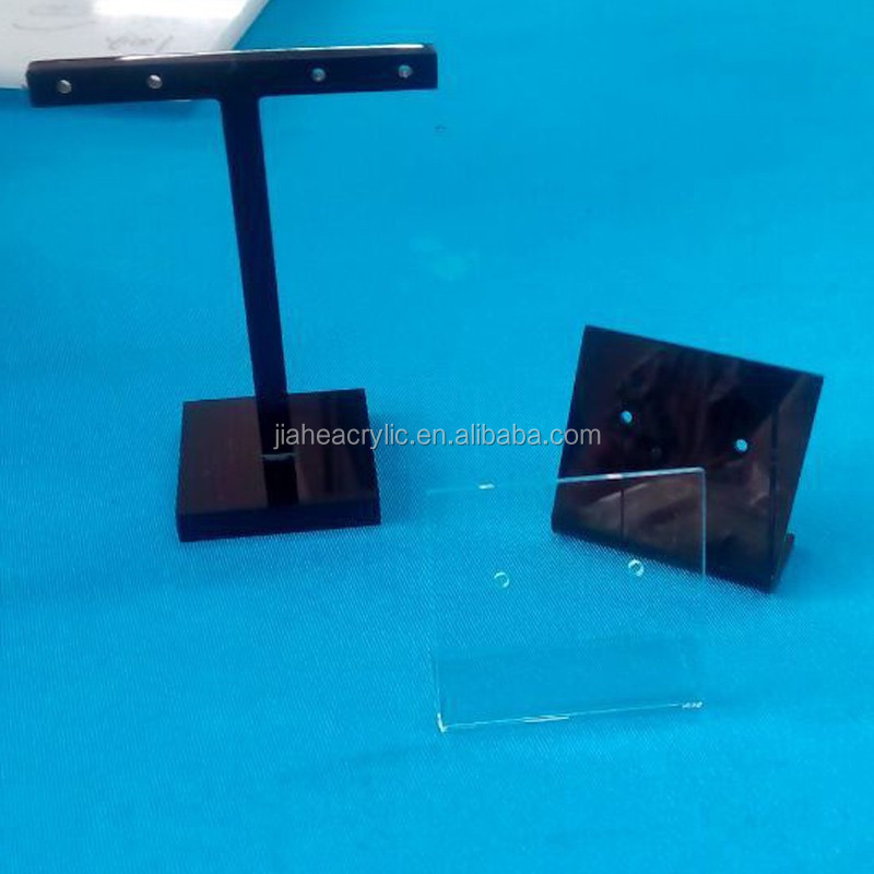 Handmade cheaper acrylic pierced earring display stand holder