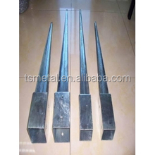 Wholesale Post spike support fence,post spike ground,post spike pole anchor