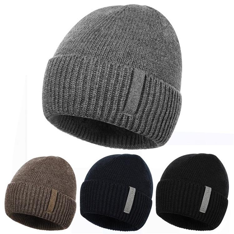 a4747bbe337 Slouch Knitting Pattern Blank Wholesale Polar Fleece Beanie Hat With Custom  Label