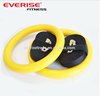 ABS plastic gym rings with adjustable straps for strength training