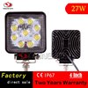 Danyan Yongjin Factory direct sales 27 W 4 inch Square Work light for Auto Parts as Truck/Jeep/Truck/Rail train