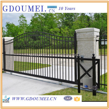 Wrought Iron Gate Designs,Sliding Gate Design,Modern Gates Design ...