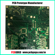 PCBGOGO 1-10 Layer Custom Electronic PCB prototype/copy/assembly services manufacturer