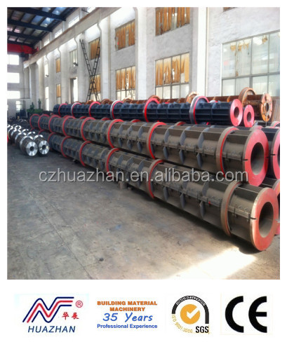 prestressed concrete piles making machine