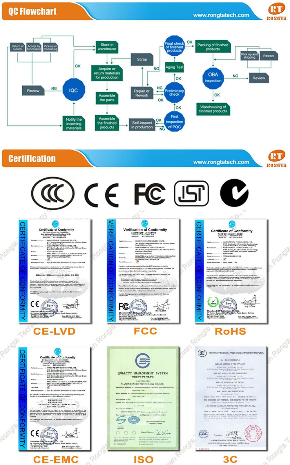 Color printing bu - 3 Bluetooth Mobile Thermal Receipt Printer Portable Printer Pos Rongta Rpp300 Bu
