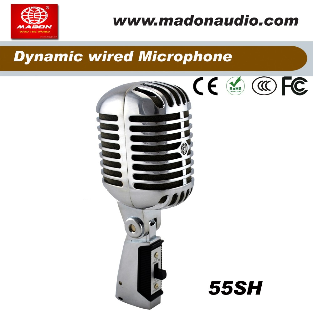 SH-55 wired Classic vocal Microphone