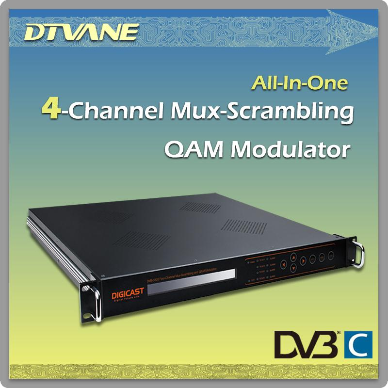(TSD-1004) Digital TV TS Distributor portable ASI/SDI distributor