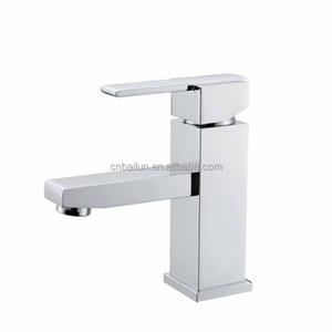 BAILUN Bathroom Brass Tap High Performance Price Ratio Square Vanity Faucets