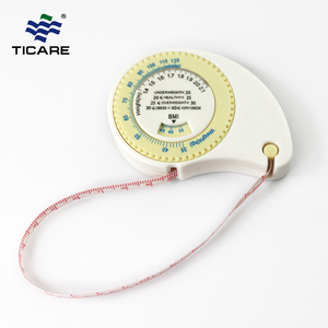 Custom kids BMI calculator body tape measure 150cm portable BMI measuring tape