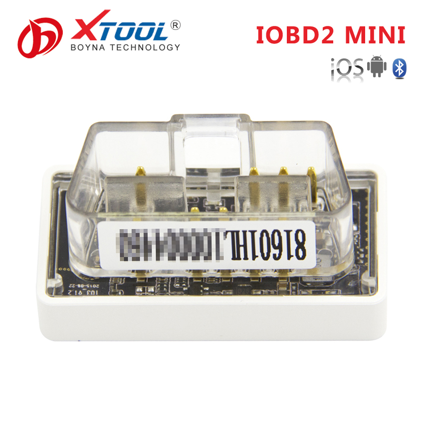 Automotive tools XTOOL super mini iobd2 Original vag serial number obdii bluetooth auto car diagnost