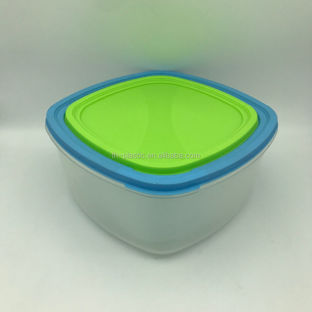 Safety plastic Food Container Feature and Food Use plastic tiffin lunch box