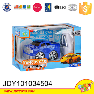 New cartoon remote control car two channel remote control in blue colour R/C car