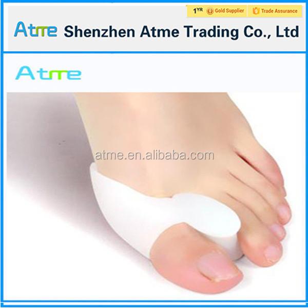 Footcare силиконовые ног бурсит большого пальца стопы сепаратор, мягкий гель ног защитника для вальгусной и перекрытия Herstellung Hersteller, Lieferanten, Exporteure, Großhändler