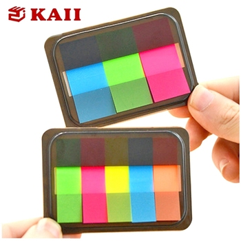 KAII Transparante Sticky Note, huisdier Sticky Note, Plastic Sticker Note