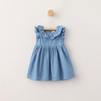 3cd367308 Nsd1760 Best Sellers Of Baby Girl Denim Dresses Children Jeans Dress ...