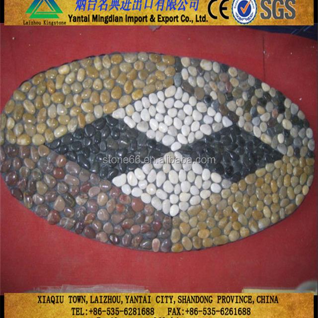 Outdoor Pebble Stone Floor Mat River Pebble Stone Door Mats