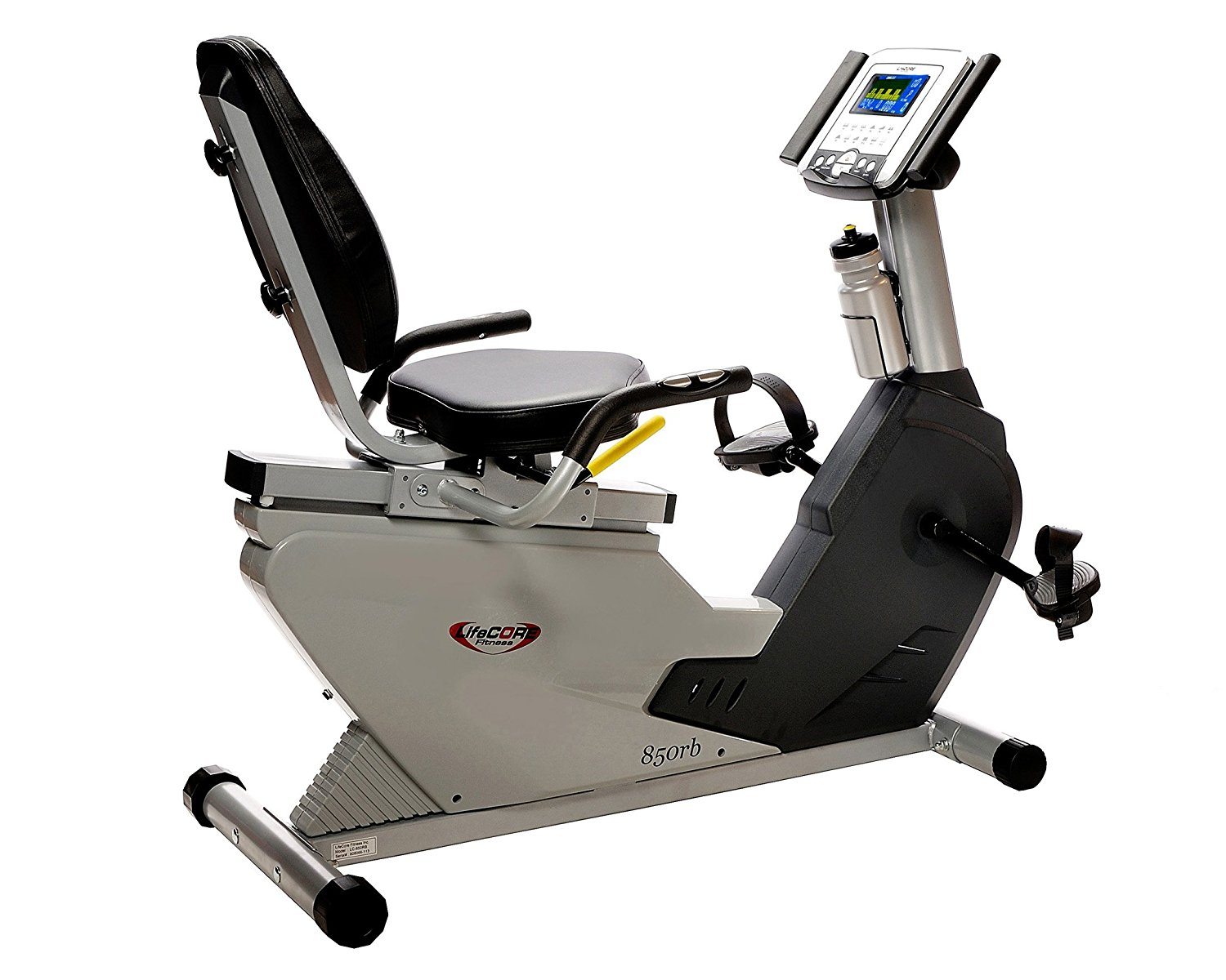 942b177d539 Buy Lifecore LC-850RB Ultra Compact Recumbent Exercise Bike in Cheap ...