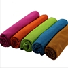 30x80cm 80% Polyester 20 Nylon Microfiber Towel Wholesale Running Badminton Towel Hand Ice Cooling Sports Beach Microfiber Towel