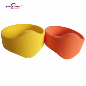 13.56MHZ Ultralight Chip NFC Silicone Wristband Blank
