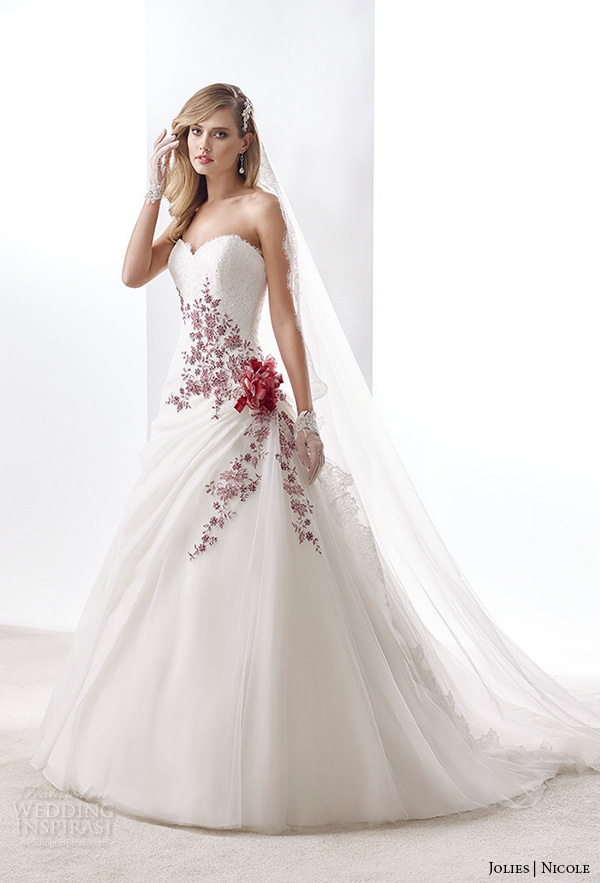 Cheap Beautiful Red And White Wedding Dress, find Beautiful Red And ...