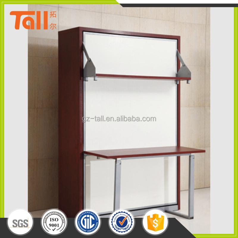 De alta calidad de la pared cama plegable cama escritorio muebles de ...
