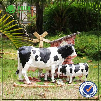 Décoration De Jardin En Résine Jardin Animal Vache Laitière À Vendre ...