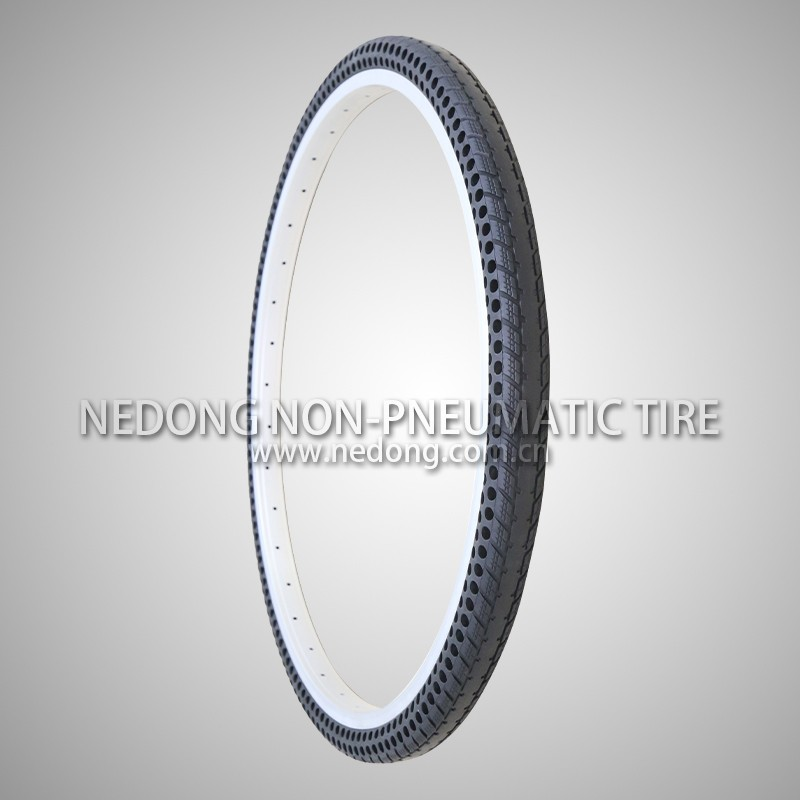 26*1.5 Inch Non-pneumatic Tire from Nedong Co., Ltd